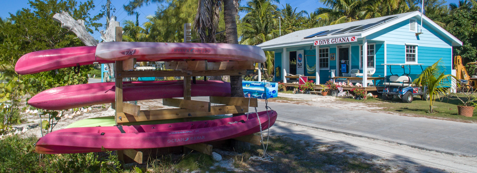 Dive Guana Gift Shop on Great Guana Cay
